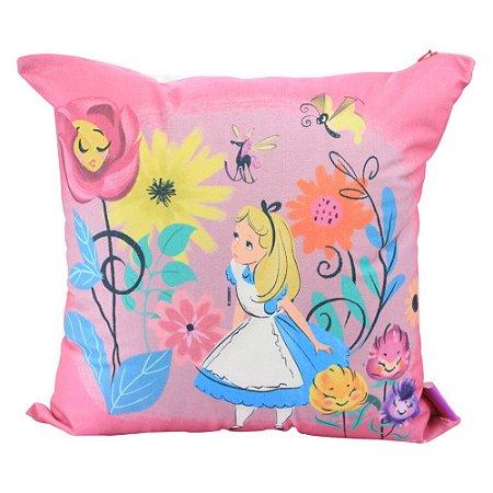 Almofada Alice No País das Maravilhas - Floral