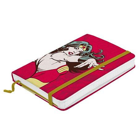 Caderneta de Anotações DC Comics - Mulher Maravilha