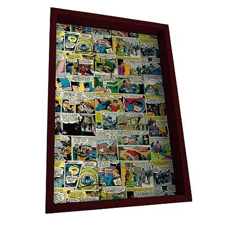 Porta Chaves em Madeira DC Comics - HQs Coloridos