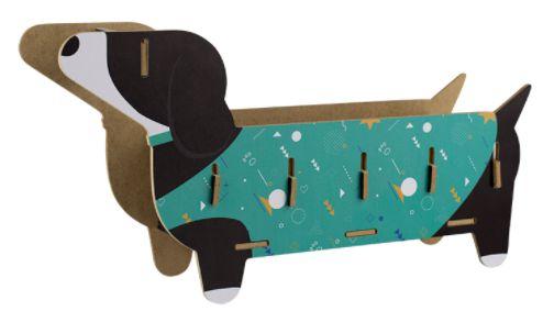 Organizador de Mesa (porta treco) Cachorro Basset