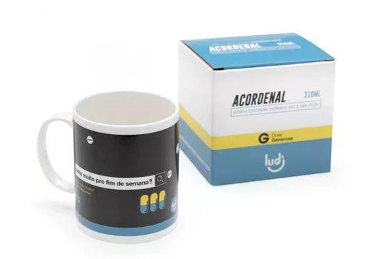 Caneca Termossensivel Remédio Azul - Acordenal