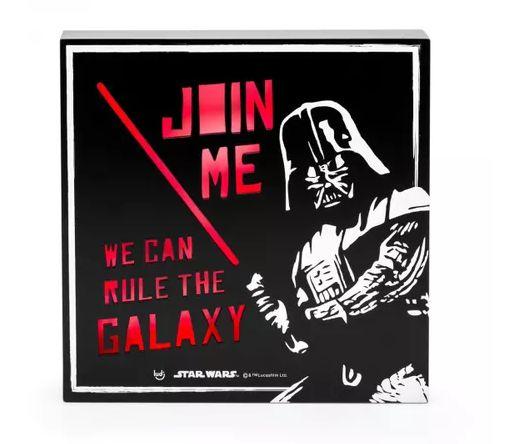 Luminária Quadro Star Wars - Império Darth Vader