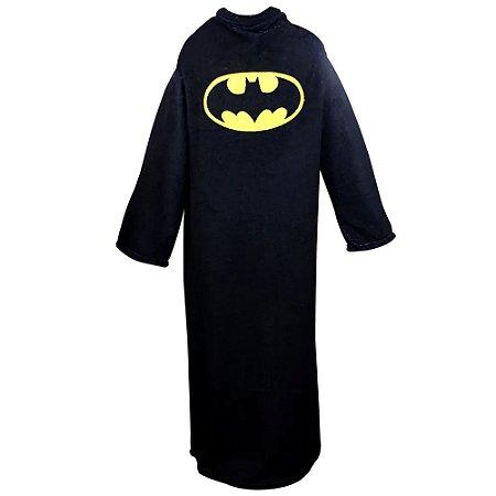 COBERTOR C/ MANGAS BATMAN