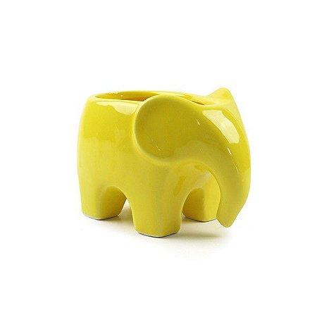 Vaso Elefante Amarelo