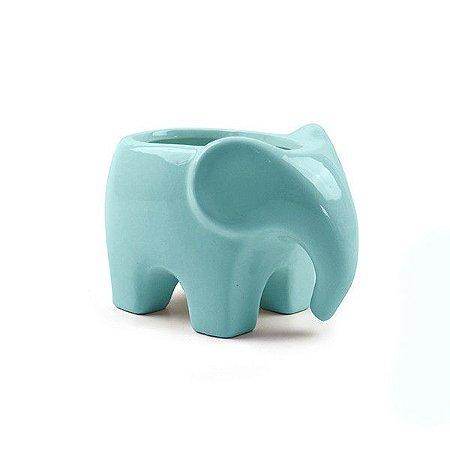Vaso Elefante Azul