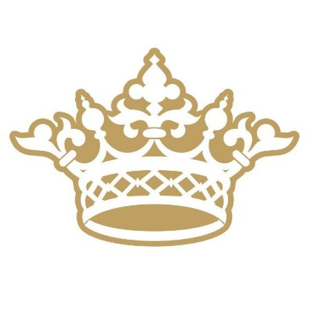 Adesivo Decorativo Coroa Rei