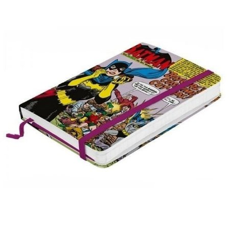 Caderno tipo Sketchbook Batgirl Costume Cut-ups