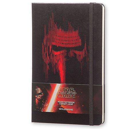 Caderno Moleskine Edição Limitada Star Wars VII Lead Villain