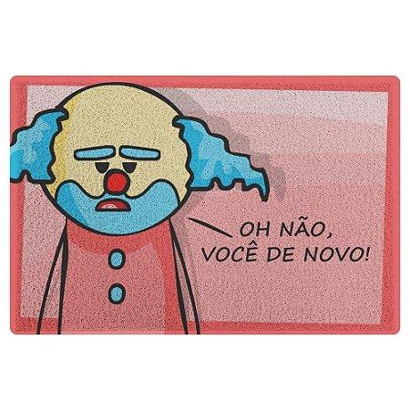 Capacho em Vinil DrPepper Paiaço - Você De Novo