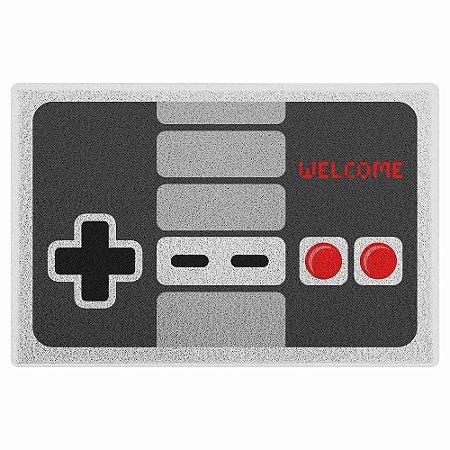 Capacho em Vinil Gamer - Joystick Retrô