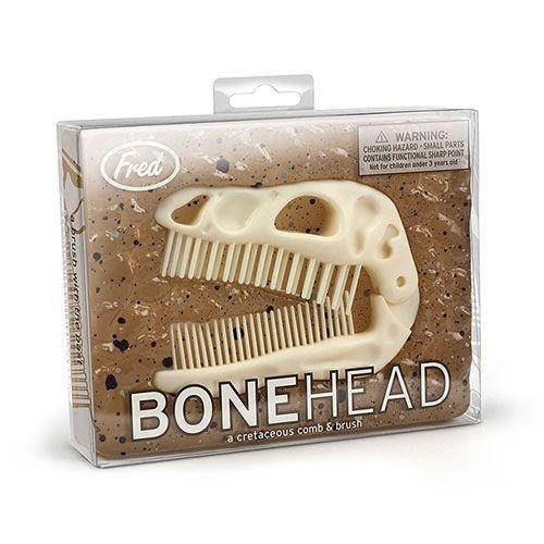 Pente e Escova - Cabeça de Dinossauro - BoneHead