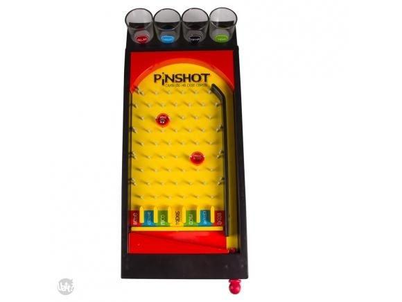 Jogo Pinball com Copos - Pinshot