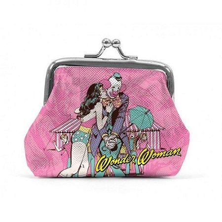Porta Moedas DC Comics Mulher Maravilha Kiss
