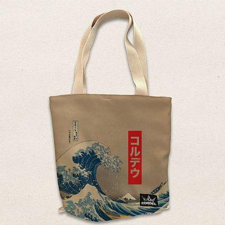 Ecobag - Saco/Mochila Hokusai