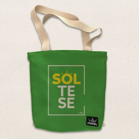 Ecobag - Saco/Mochila SOLte-se