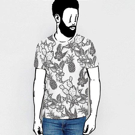 Camiseta, Uma Xilo, um Floral e um Cordel