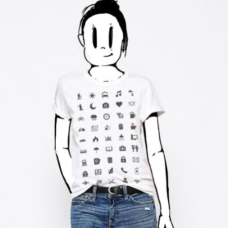 Camiseta Feminina, Cordel viajante