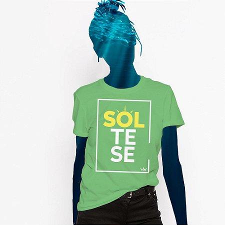 Camiseta Feminina, SOLte se