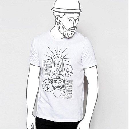 Camiseta, João Grilo e Nossa Senhora.