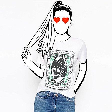 Camiseta Feminina, A vida não espera