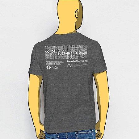 Camiseta, Por um mundo Melhor Costas
