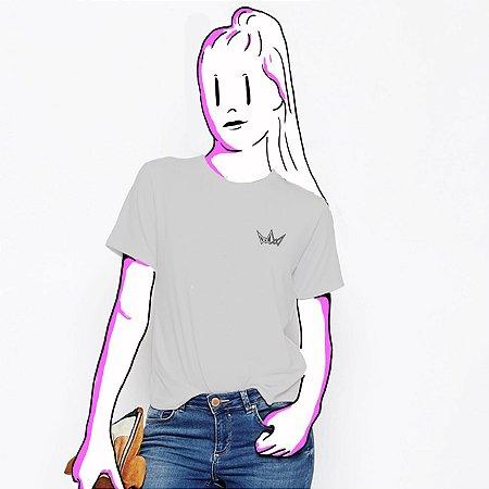 Camiseta Feminina, Básica Cordel Logo