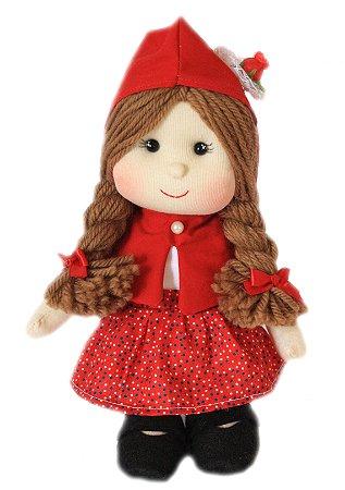 Boneca de Pano Chapeuzinho Vermelho