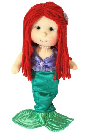 Boneca de pano Ariel