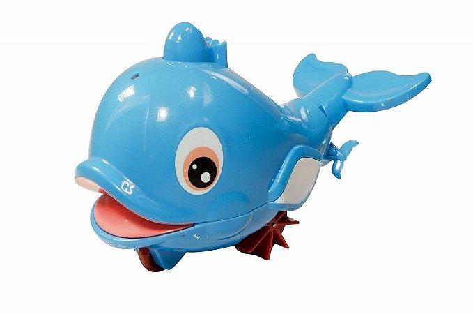 Brinquedo Banho Divertido Bichos D'água Baleia Kitstar