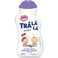 Sabonete Liquido Tralala Baby Suave Lavanda 200ml