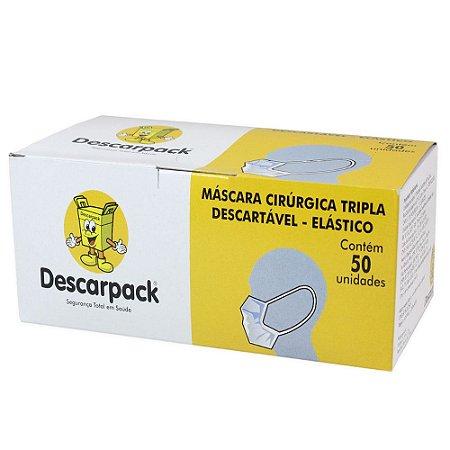 Máscara Cirúrgica Descarpack 50 unidades