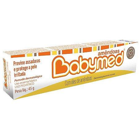 Pomada para assaduras Babymed Amêndoas