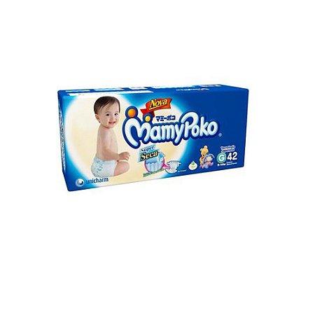 Fralda Descartável Infantil Mamy Poko Super Seca