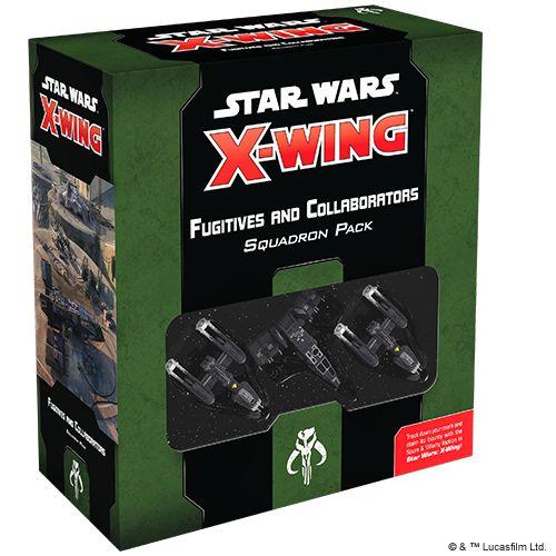STAR WARS: X-WING 2.0 – FUGITIVES AND COLLABORATORS SQUADRON PACK (PRODUTO EM INGLÊS)