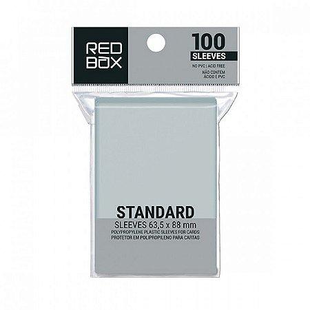 SLEEVES REDBOX STANDARD (63,5x88) - 100 UNIDADES