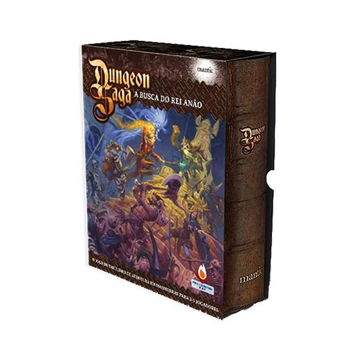 DUNGEON SAGA: A BUSCA DO REI ANÃO