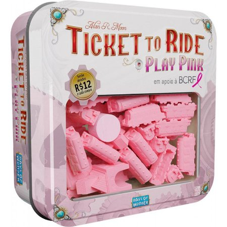 TICKET TO RIDE PLAY PINK (EXPANSÃO)