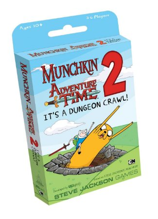MUNCHKIN ADVENTURE TIME 2: IT`S A DUNGEON CRAWL!