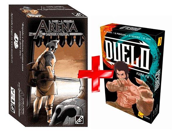 COMBO: ARENA SANGUE & GLORIA + DUELO KUNG FU