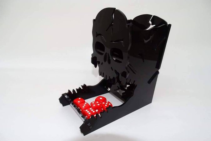 JACK DICE TOWER - ACRÍLICO PRETO