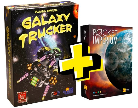COMBO: GALAXY TRUCKER + POCKET IMPERIUM