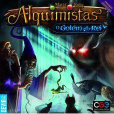 ALQUIMISTAS - O GOLEM DO REI