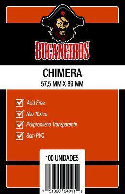 SLEEVES BUCANEIROS CHIMERA 57,5X89 - 100 UNIDADES