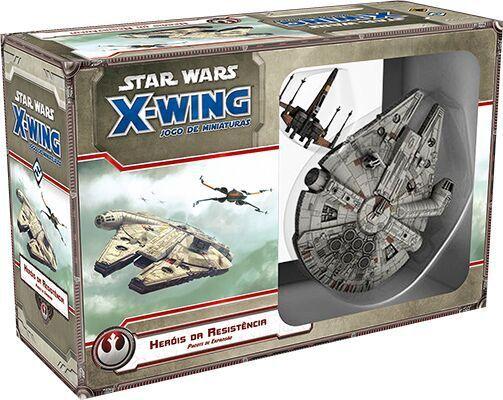 STAR WARS X-WING: HERÓIS DA RESISTÊNCIA