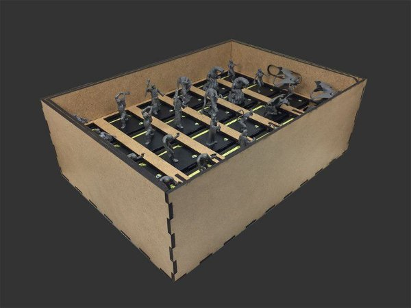 ORGANIZADOR (INSERT) PARA EXPANSÕES DO MANSIONS OF MADNESS
