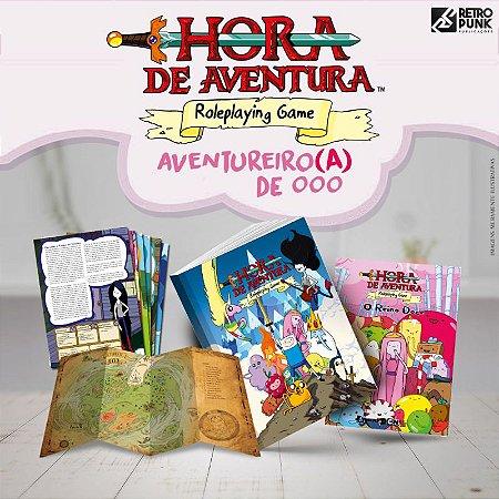 HORA DE AVENTURA RPG - PACOTE AVENTUREIRO(A) DE OOO