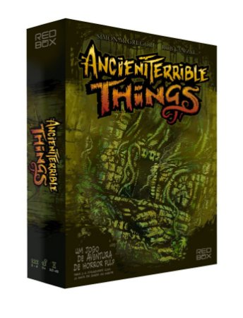 COMBO: ANCIENT TERRIBLE THINGS + EXTRAS + EXPANSÃO + PLAYMAT + INSERT