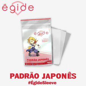 SLEEVES EGIDE PADRÃO JAPONÊS 59X86 - 100 UNIDADES