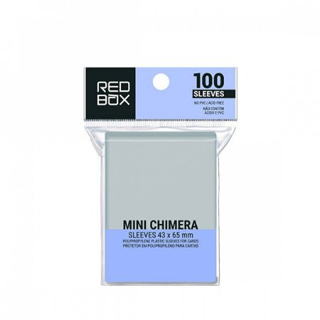 SLEEVES REDBOX MINI CHIMERA (43X65) - 100 UNIDADES