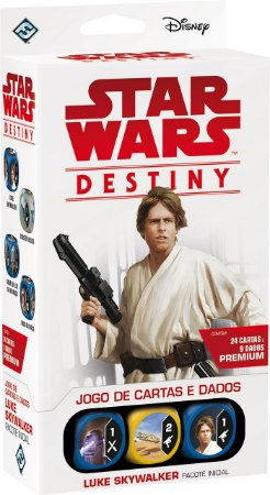STAR WARS DESTINY PACOTE INICIAL: LUKE SKYWALKER